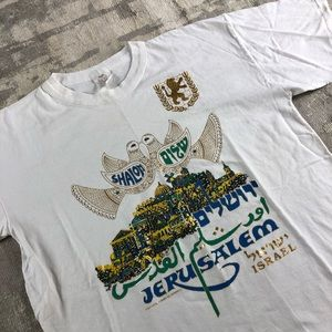 Vintage Jerusalem Art Shirt